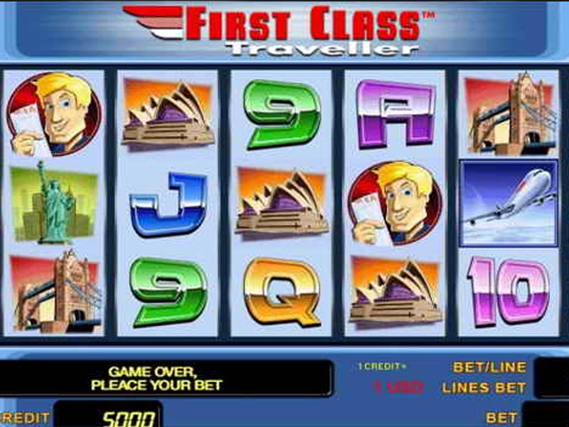 Игровой автомат First Class Traveller бесплатно без регистрации