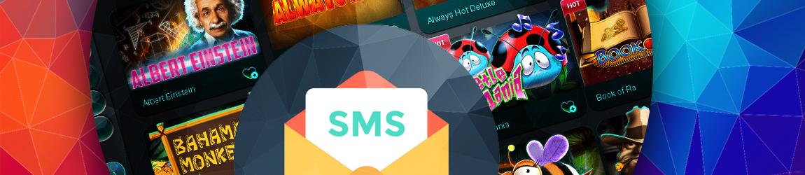 в каком онлайн казино можно пополнять счет через смс